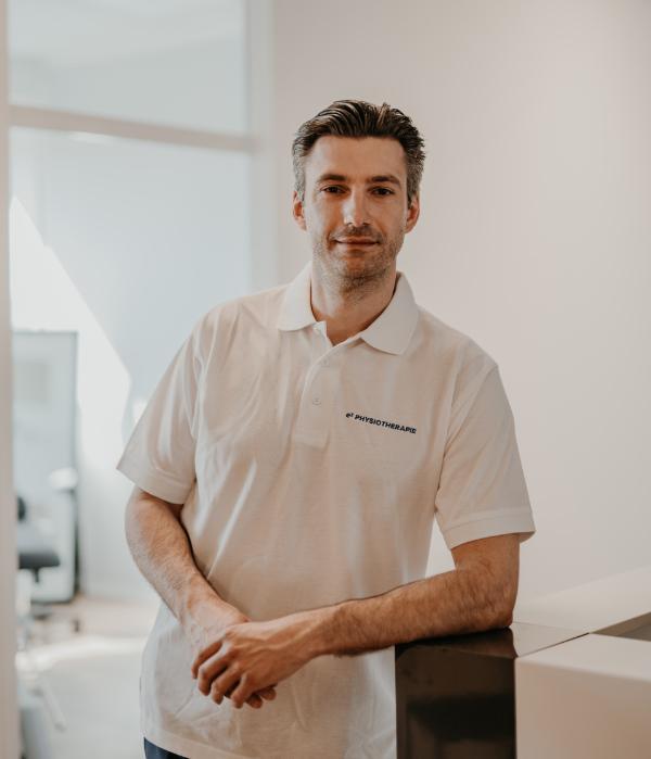 Maximilian Pfülb, Inhaber e3 Physiotherapie Erlangen